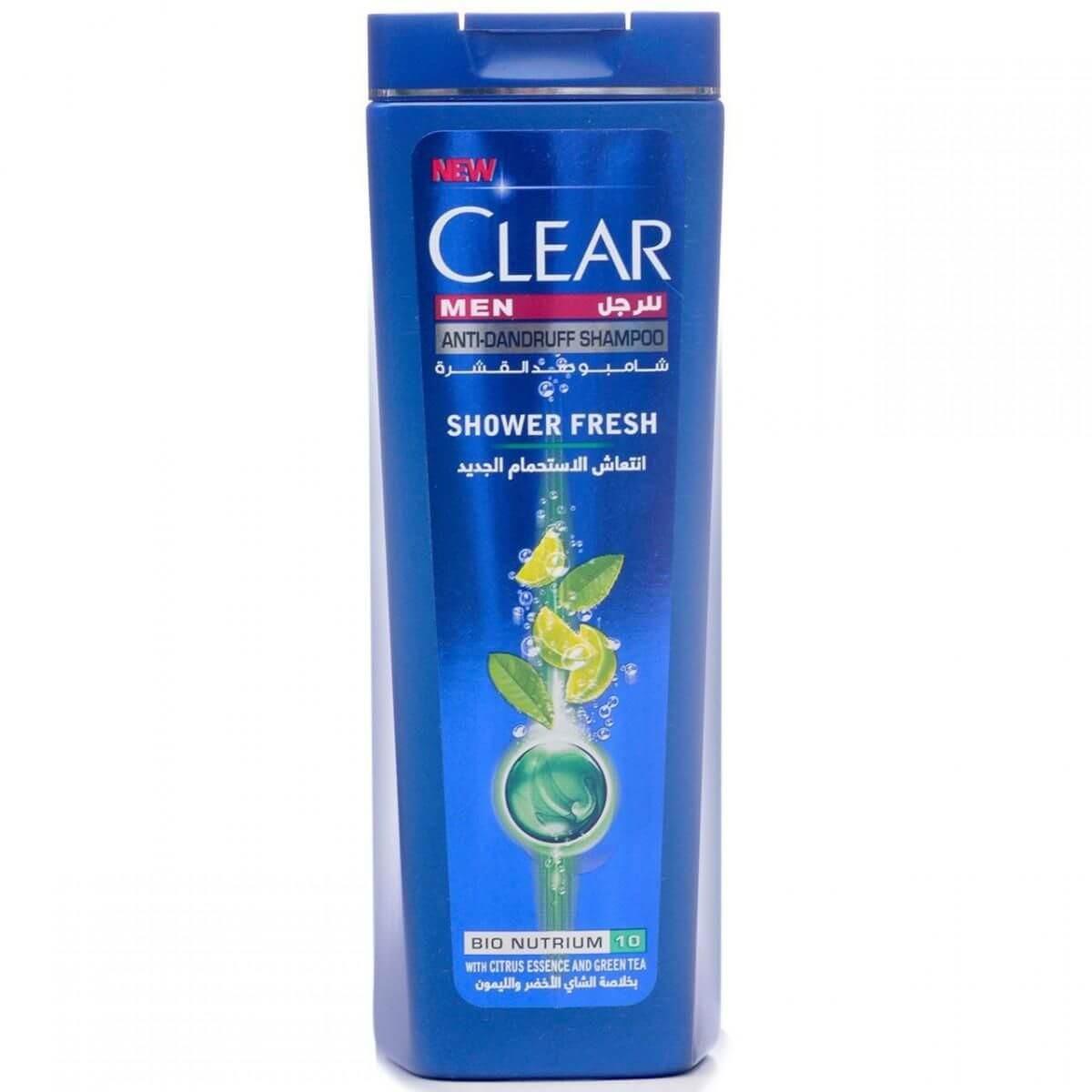 Clear Men AntiDandruff Shampoo Shower Fresh With Citrus Essence & Green Tea 200ml