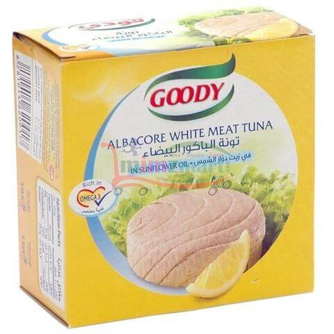 GOODY WHITE MEAT TUNA 185G