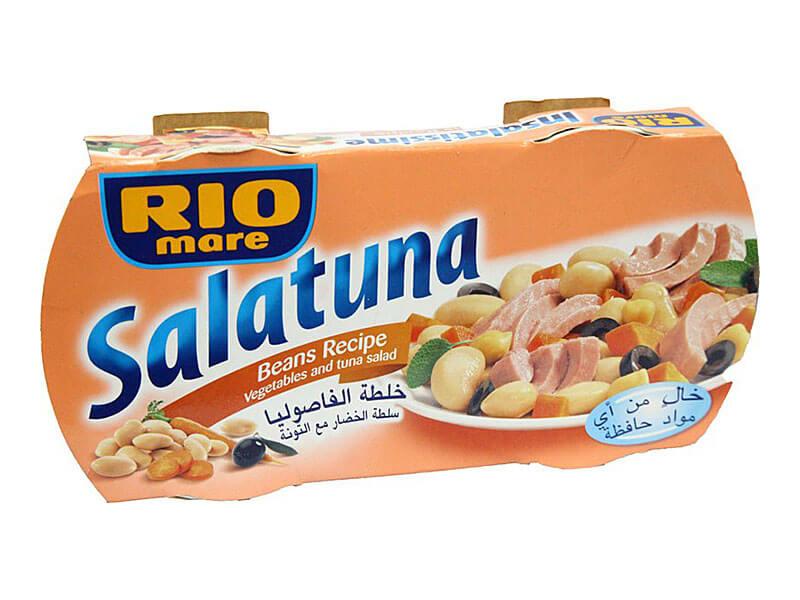 RIOMARE SALATUNA BEANS 2X160G
