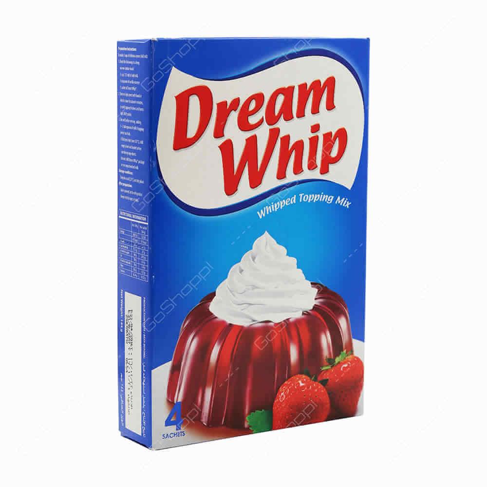 DREAM WHIP VANILLA 144G