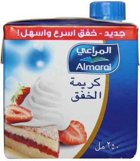 ALMARAI WHIPPING CREAM LIGHT 250ML
