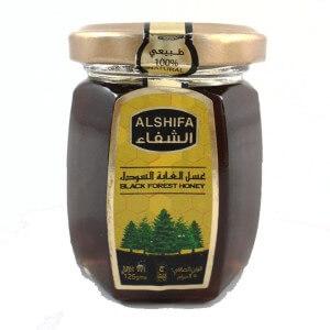 AL SHIFA BLACK FOREST HONEY 125G