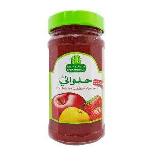 HALWANI MIXED FRUITS JAM 400 g