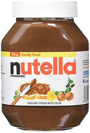 NUTELLA HAZELNUT SPREAD WITH COCOA 1KG