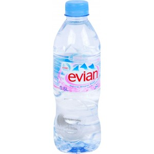 Evian Natrl Mneral Water 500ml