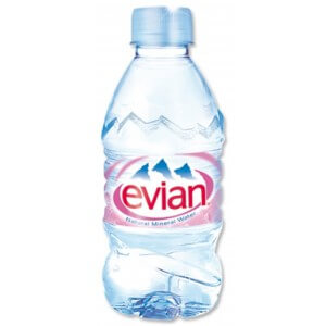 Evian Water 330ml
