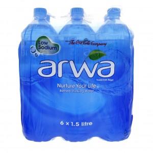 Arwa Natural Spring Water 6x1l