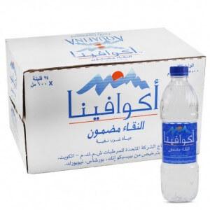 Aquafine Natural Water 24x600ml