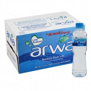 Arwa Natural Spring Water 24x500ml