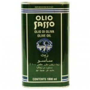 SASSO OLIVE OIL CAN 800 ML