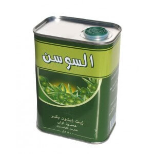 ALSAWSAN OLIVE OIL CAN 800 ML