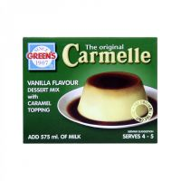 GREENS CARMELLE WITH TOPPING 70G