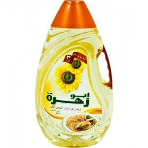 ABU ZAHRA SUNFLOWER COOKING OIL 3 LIT