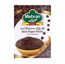 MEHRAN BLACK PEPPER POWDER 100G