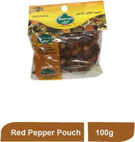 MEHRAN SPICES RED PEPPER WHOLE POUCH 100G