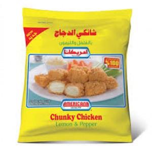 Americana Chunky Chicken Lemon & Peaper 750 g