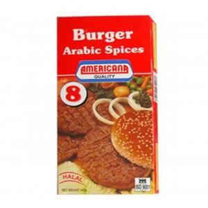 Americana 4 Hamburger Spicy