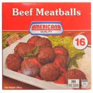 Americana Beef Meatballs 400g