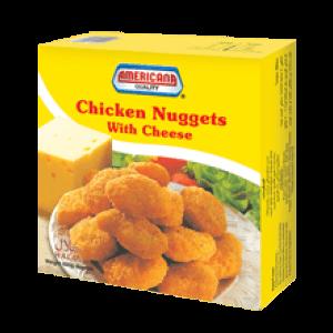Americana Chicken Nuggest Cheese 400 g