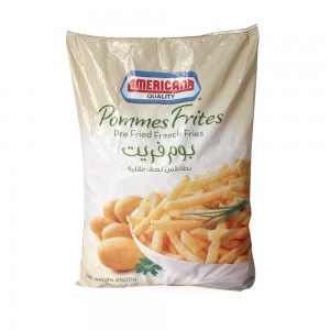 Americana French Fries (Pmmes Frites) 2.5 Kg
