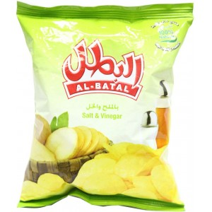 Albatal Chips Salt&Vinegar 26 g