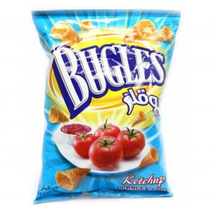Bugles Corn Snack Ketchup165g