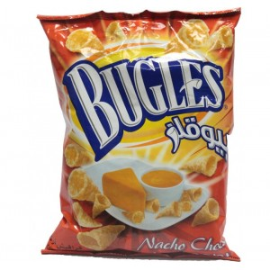 Bugles Crispy Corn Snacks Nacho Cheese 18g