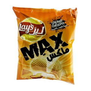 Lays Chips Max Cheddar 50 G