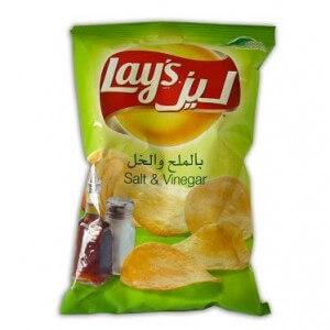 Lays Chips Salt&Vinegar 23 g