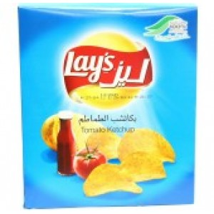 Lays Chips Tomato Ketchup 12*26G