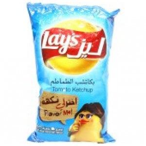 Lays Potato Chips Ketchup 180 G