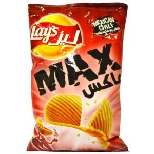 Lays Potato Chips Max Mexican Chilli 200g
