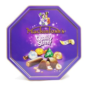 MACKINTOSH'S QUALITY STREET CHOCOLATE 375G