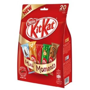 Nestle Kitkat Mini Moments Chocolate Bag 340g