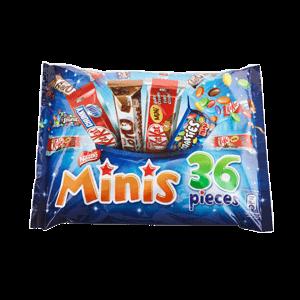 Nestle Minis Chocolates Mix Bag 480g