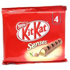 Nestle Kitkat Senses Wafer Hazelnut 4X31G
