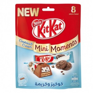 Nestle Kitkat Mini Cookies with Cream 140g