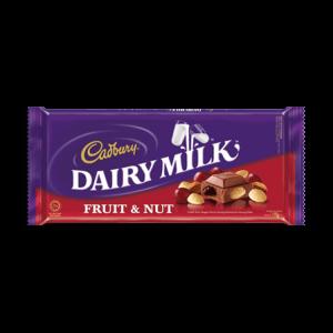 Cadbury Fruit & Nut Choco 100 G