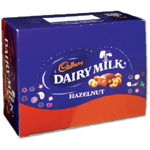 Cadbury Dairymilk Wholenut 12x45 G