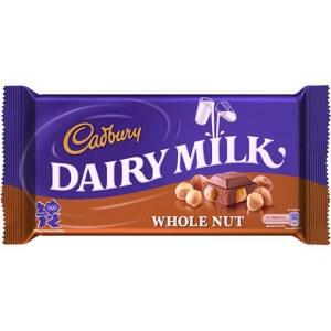Cadbury Dairymilk Wholenut 45 G