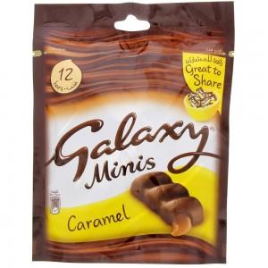 Galaxy Choco Caramel Minis 150g