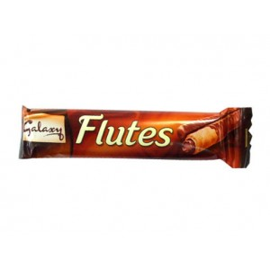 Galaxy Flutes Choco Wafer 45 G