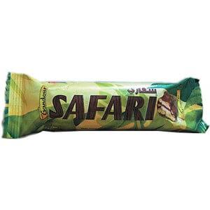 Gandour Safari Caramel Wafer 20 G