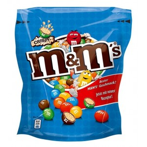 M&ms Chocolates Blue 180g