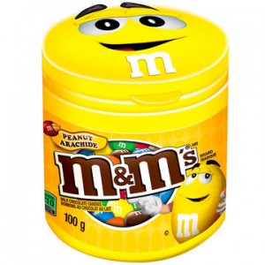 M&Ms Chocolates Peanut 100 g