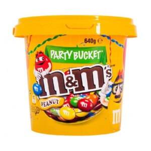 M&Ms Chocolates Peanut 640g
