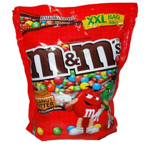 M&Ms Chocolates Peanut Butter 180g