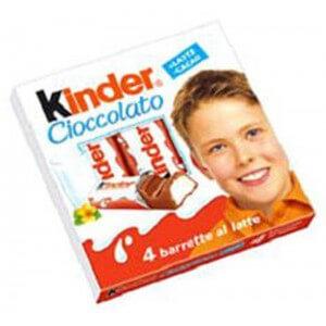 Kinder Chocolate T4x8 50g