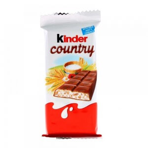 Kinder Conutry Chocolate 23g