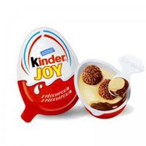 KINDER JOY EGG CHOCOLATE T72 20G